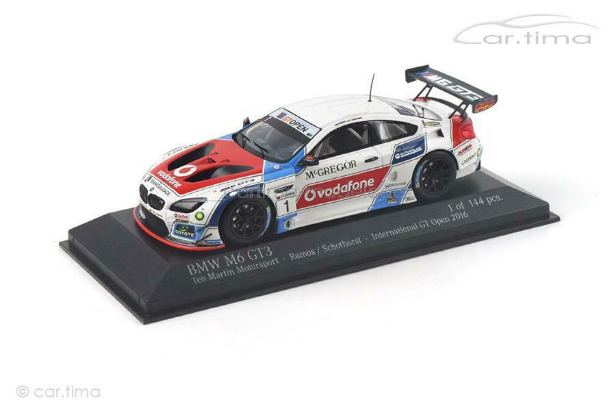 Bmw m6 gt3-International GT Open 2016-Ramos Schothorst-Minichamps - 1 43