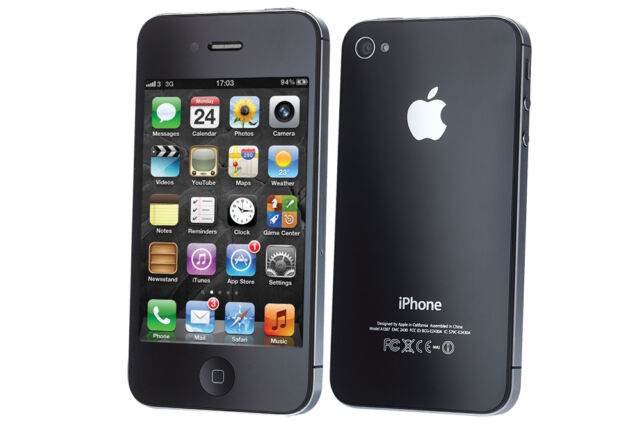 Apple iPhone 4S 16GB Black GSM Factory Unlocked Smartphone **FAST SHIP FROM NY**