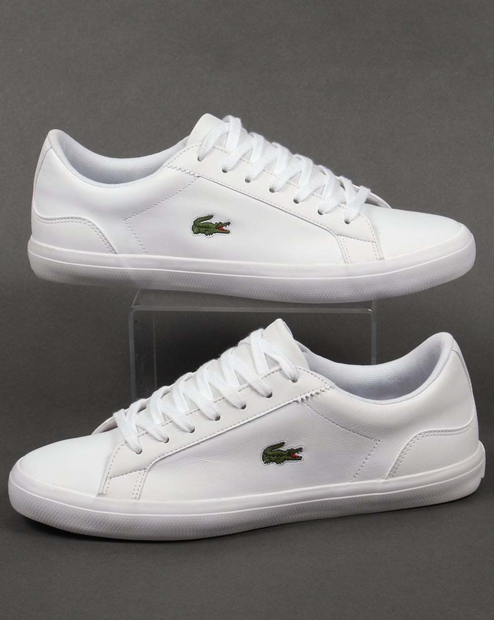 Lacoste Lerond Trainers in White - soft