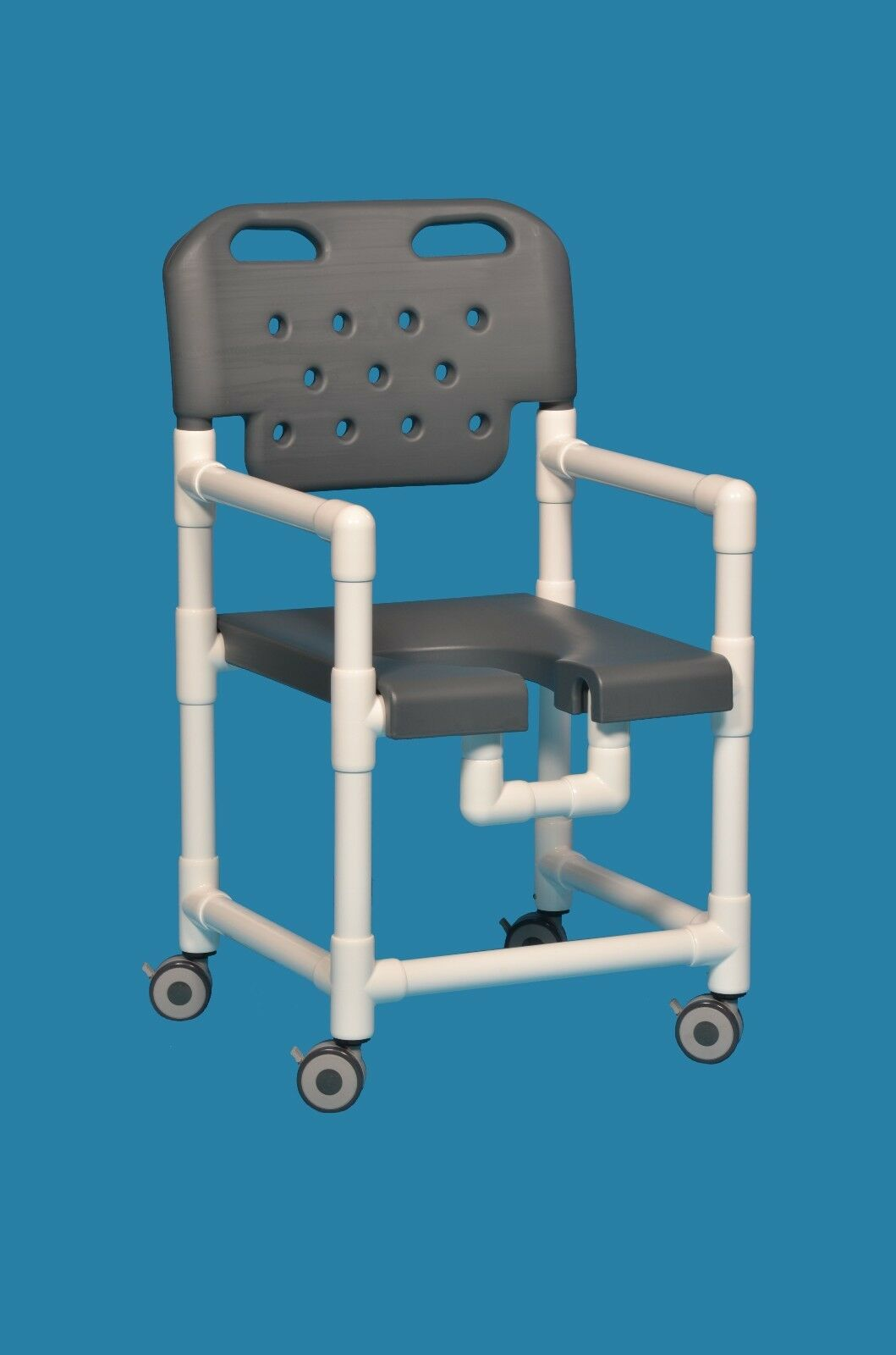 Rolling Open Front Elite Shower Chair Elt817b 325 Lbs Capacity | eBay