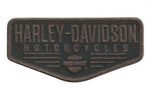 HARLEY DAVIDSON Renowned B&S Small Patch 4.0 INCH HARLEY PATCH