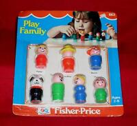 Vintage Fisher Price 663 Play Family Little People Brand Unopened Pkg 139