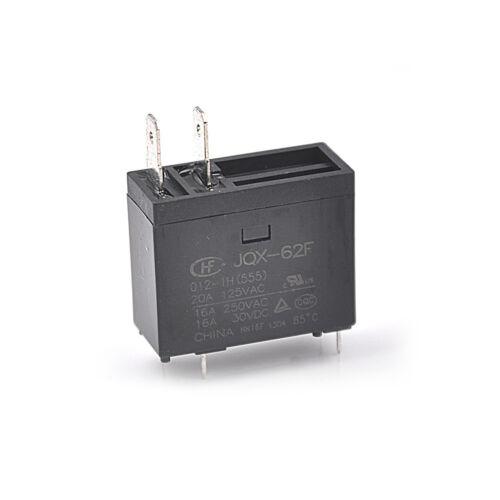 JQX-62F-012-1H(555) 20A 125VAC 16A 30VDC Small Power RelaRCUS 16A 250VAC