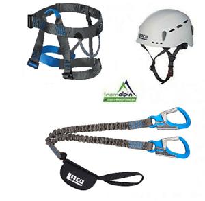 Klettersteigset Lacd via Ferrata Pro Evo 2.0+Facile 2.0+Protecteur 2.0 Weiß