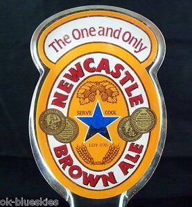 Newcastle Brown Ale 7 Quot Acrylic Beer Bar Tap Handle Keg