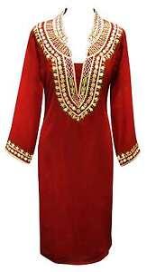 Mode-Femme-Indienne-Ethnique-Creation-Kurti-Top-Tunique-Fantaisie-Kurta-Caftan-7007