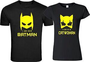 IM-HER-BATMAN-IM-HIS-CATWOman-Couple-matching-cute-TShirts-S-5XL
