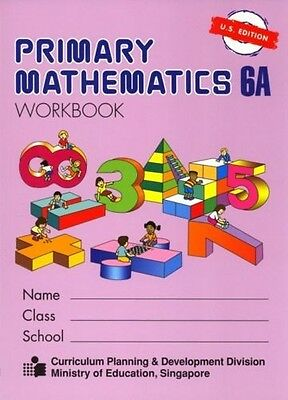 Primary Mathematics Workbook 6A US Ed - FREE Expedited Shipping UPGRADE W $45