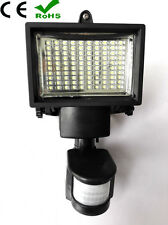 100 LED Solar Power Motion Sensor Security Flood light With PIR Wall Lamp Decor