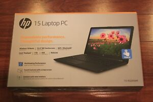 New-HP-15-6-034-Touchscreen-Laptop-Intel-Pentium-4GB-1TB-Win10-Bluetooth-Black