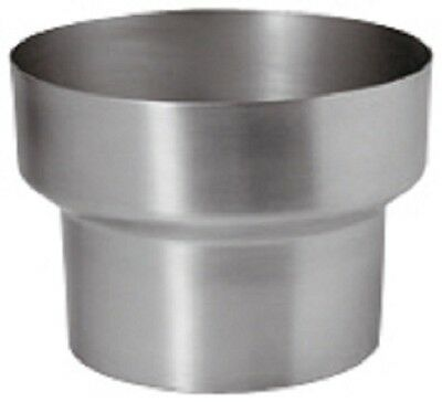 Titan-zink Fallrohr Reduzierung/reduktion 100mm/76mm Baustoffe & Holz