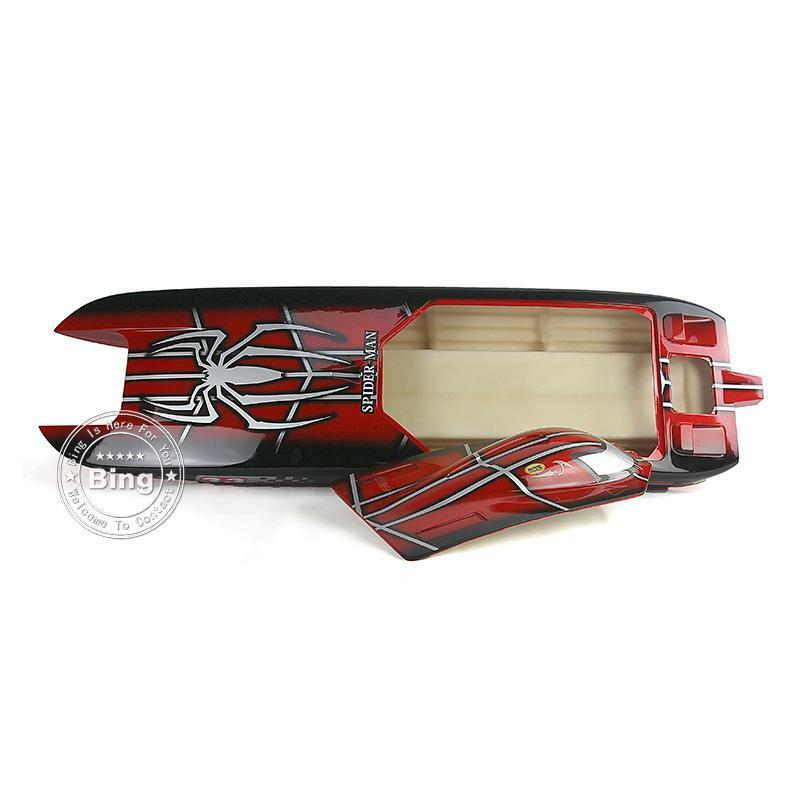 DT E51 Spider uomo  Electric RC KIT Boat Hull corpo Only for Skilled Player  negozio all'ingrosso