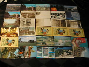 100-Mixed-Postcards-1930s-1980s-Canada-Europe-US-Naval-Academy