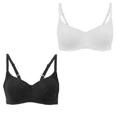 Ladies M/&S Cool Comfort Smooth Cotton Rich Full Cup Underwired Bra 34-42 A B C D
