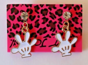 Betsey-Johnson-Crystal-Rhinestone-Enamel-Mickey-Mouse-Hands-Post-Earrings
