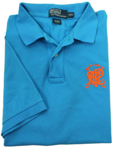 NEW POLO RALPH LAUREN CLASSIC FIT SHORT SLEEVE CROSSED MALLETS POLO SHIRT XL