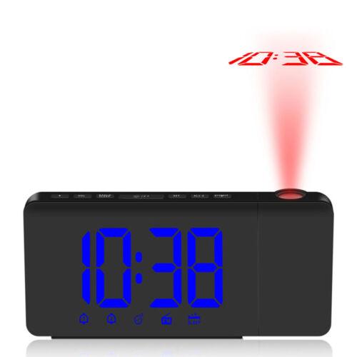 DHL/ FM Radiowecker / Projektionswecker / Uhrenradio / digitaler Wecker/ NEU