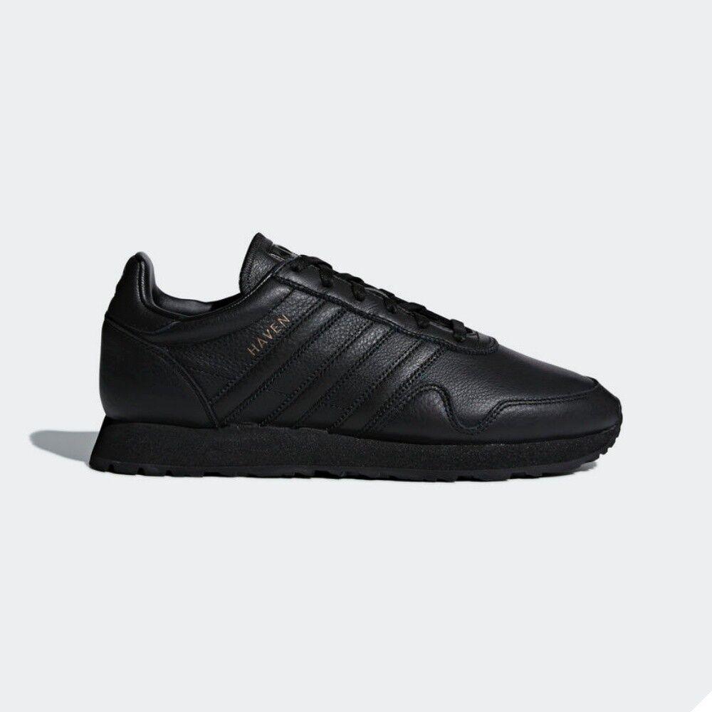 Adidas Originals Haven athlétique fonctionnement Casual chaussures noir CQ3036 Taille 4-11