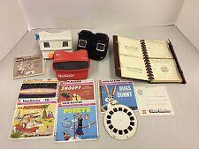 Vintage GAF Viewmaster Sawyers Reel Slides Stereo Pictures Reels Lot Album Photo