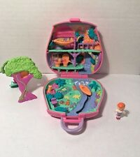 Polly Pocket Jungle Adventure Compact 1996 Bluebird Vintage with Figure