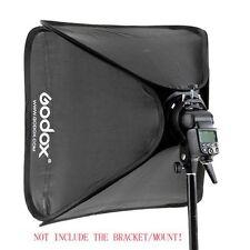 Godox 40x40cm Flash Softbox Bag Kit for Camera Studio Flash fit Bowens Elinchrom