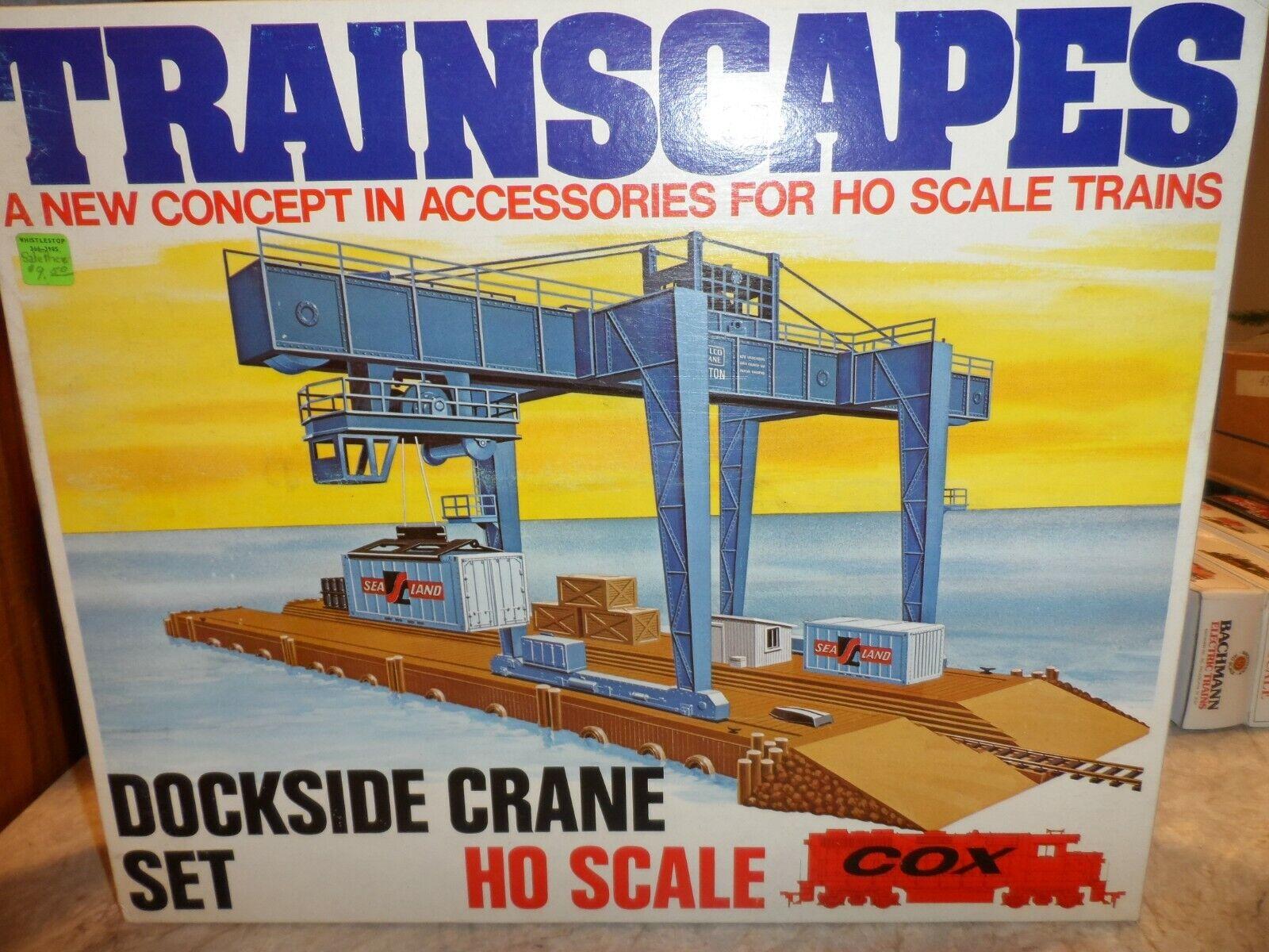 COX scala HO treno scapes Dock lato Crane Set N.I.B.