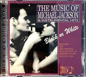 CD-ALBUM-THE-MUSIC-OF-MICHAEL-JACKSON-16-INSTRUMENTAL-COLLECTOR-RARE-COMME-NEUF