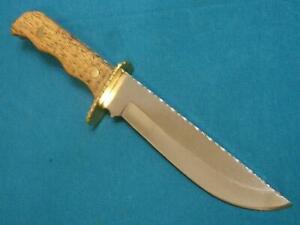 VINTAGE-CUSTOM-MOUNTAIN-MAN-COMBAT-FIGHTING-HUNTINGSKINNING-SURVIVAL-BOWIE-KNIFE