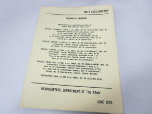 Vintage-AM-General-Military-5-Ton-6x6-Truck-M809-Technical-Manual