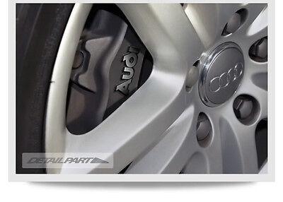 (Fits: Audi A3 A4 A5 A6 A7 A8 Q5 Q7 TT R8) LOGO Brake Caliper Emblem