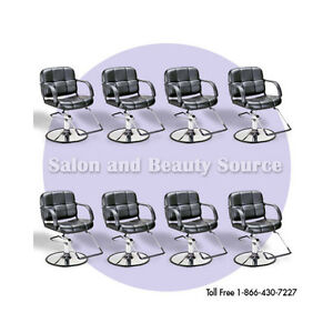 Austin Hair Salon Styling Chair Package Of 8 Furniture And Equipment Ebay