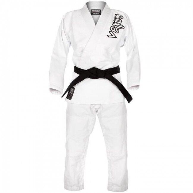 Venum  BJJ Gi Contender 100% Cotone kimono Jiu Jitsu Blu Bianco Nero 350grm²