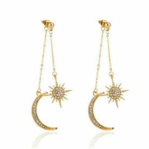Crystal-Moon-Star-Earrings-Drop-Dangle-Earring-Women-Ladies-Jewelry-Party-Gifts