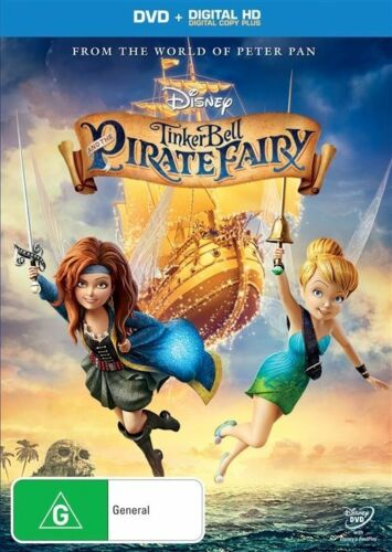 1 of 1 - Tinker Bell And The Pirate Fairy (DVD, 2014)