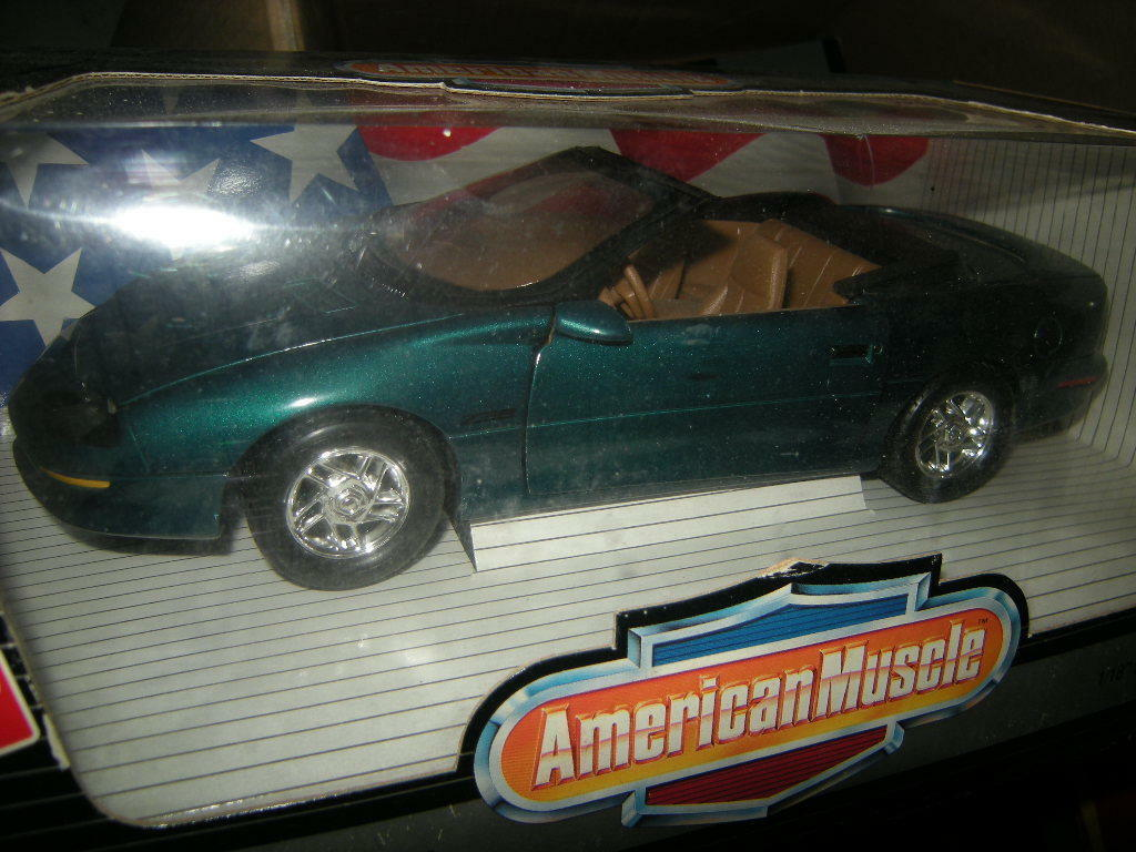 1 18 ertl American muscle Chevrolet Camaro z28 verde verde 1996 OVP