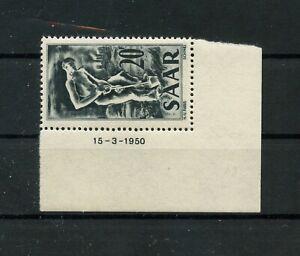 Germany-Saar-Saarland-vintage-yearset-1949-Mi-283-Br-Mint-MNH