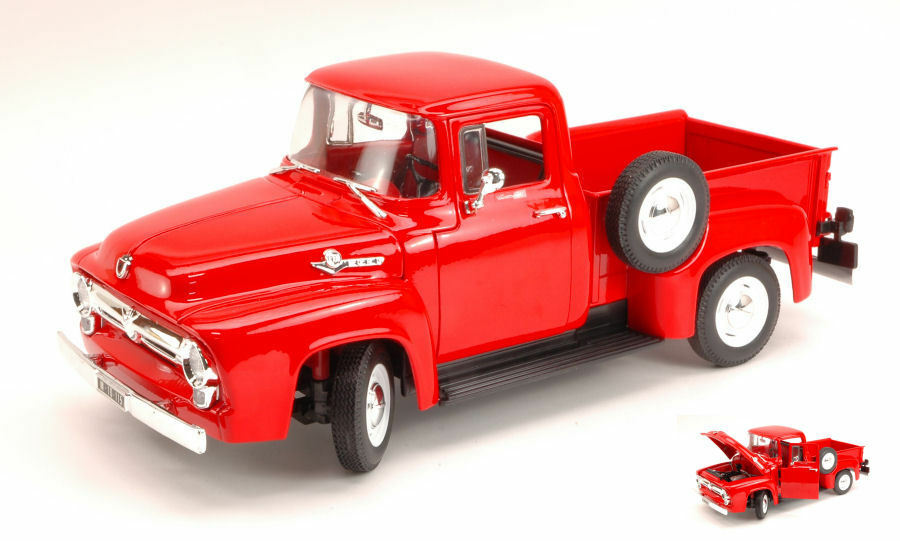 Ford f 100 pick up 1956 rosso 1 18 Model 9831 Welly