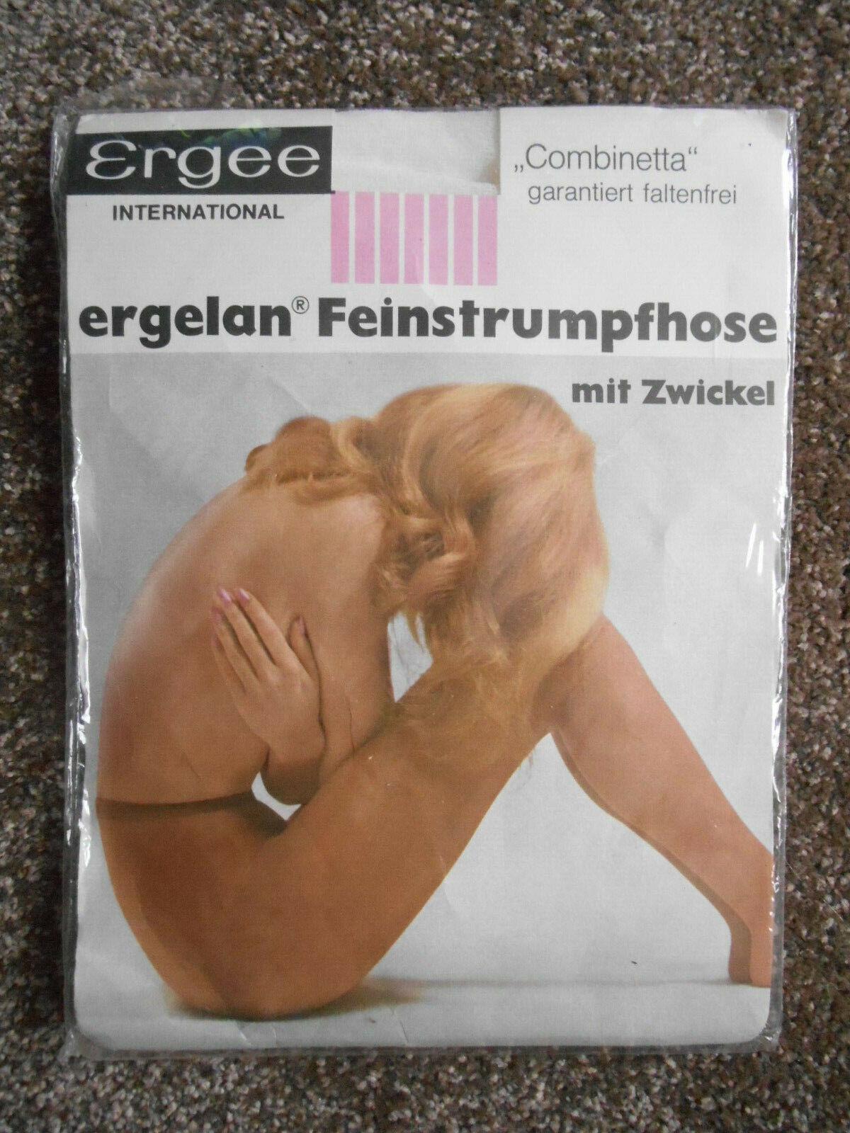 Ergee Feinstrumpfhose Gr. 38 - 40 Weiß