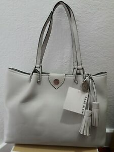 Nwt Authentic Anne Klein multicompartment  tote Bag shadow