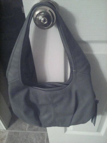 Gray Bag Blue Simply WSilver Faux Hardware Wang Vera Shoulder Hobo Leather qSUzVMp