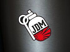 1 x Aufkleber JDM Granate Handgranate Hand Shocker Sticker Tuning Bomb Fun Turbo