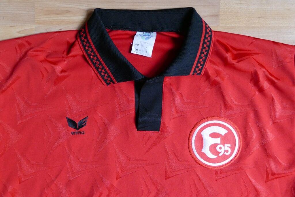 Altes Erima Trikot   Shirt mit Fortuna Düsseldorf Logo Gr. XL Kurzarm  ansehen