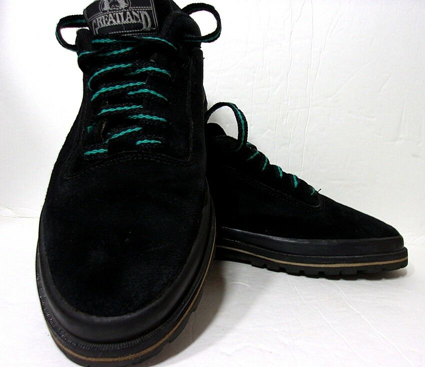 Greatland Boot Women's Black Leather Suede Casual Boot Greatland Shoes 7 M China e6cc48