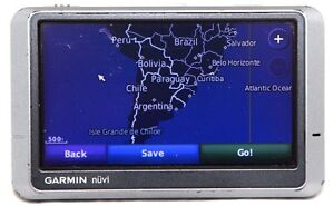 Details about Garmin Nuvi 200W GPS Navigation 2019 North America South  America, & Russia Maps