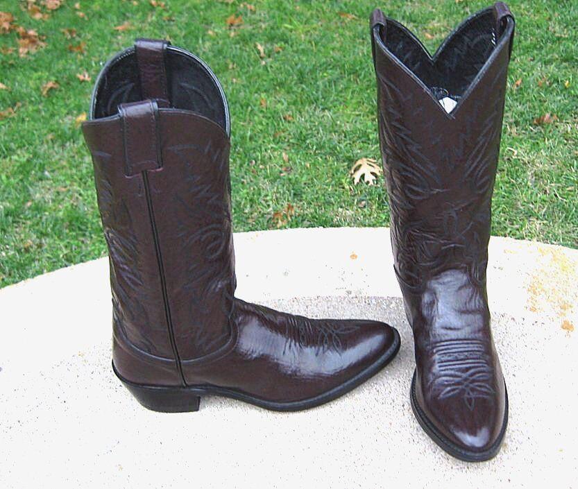 Justin para Hombres botas De Vaquero 9'D
