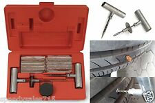 35pc Tooluxe 50002L Tire Repair Kit Plug Set Flat Puncture New Free Shipping