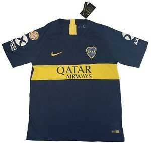 cf532a0c3 Nike Men s Large Dri-Fit CABJ Club Atletico Boca Juniors Dark Blue ...