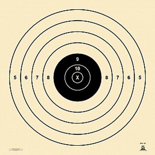 """40/"""" X 42/"""" SR haute puissance cible environ 182.88 m 15 Pack NRA officiel standard 200 Yd SR"""