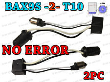 2x LED 5W SIDE LIGHT RESISTOR NO ERROR BAX9S H6W FREE CANBUS OFFSET PINS T10 501