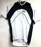 Inverse Life Cycling Jersey White Short Sleeve Road